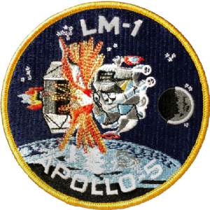 LM-1 Apollo 5 Embroidered Patch